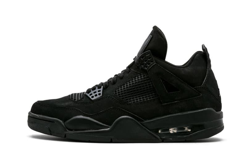 率先近賞 2020 年 Air Jordan 4 Retro「Black Cat」黑魂復刻鞋款