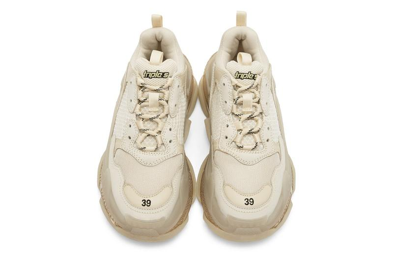 Balenciaga Triple S 最新配色「Off-White」發佈