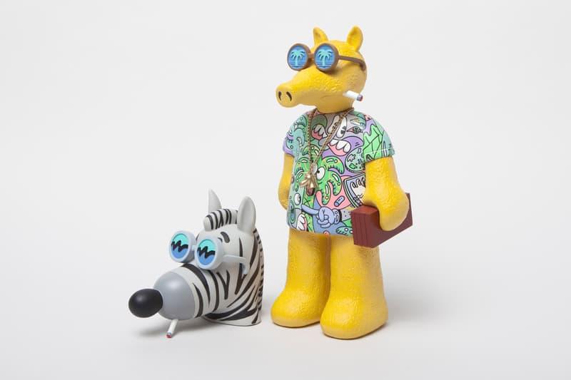 Best Art Drops:MADGIBBS x Steven Harrington 別注公仔、Yoon Hyup《Rain or Shine》畫作實體化雕塑
