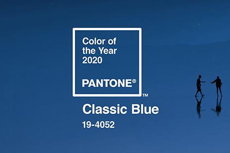 Pantone 公佈 2020 年度代表色-Classic Blue