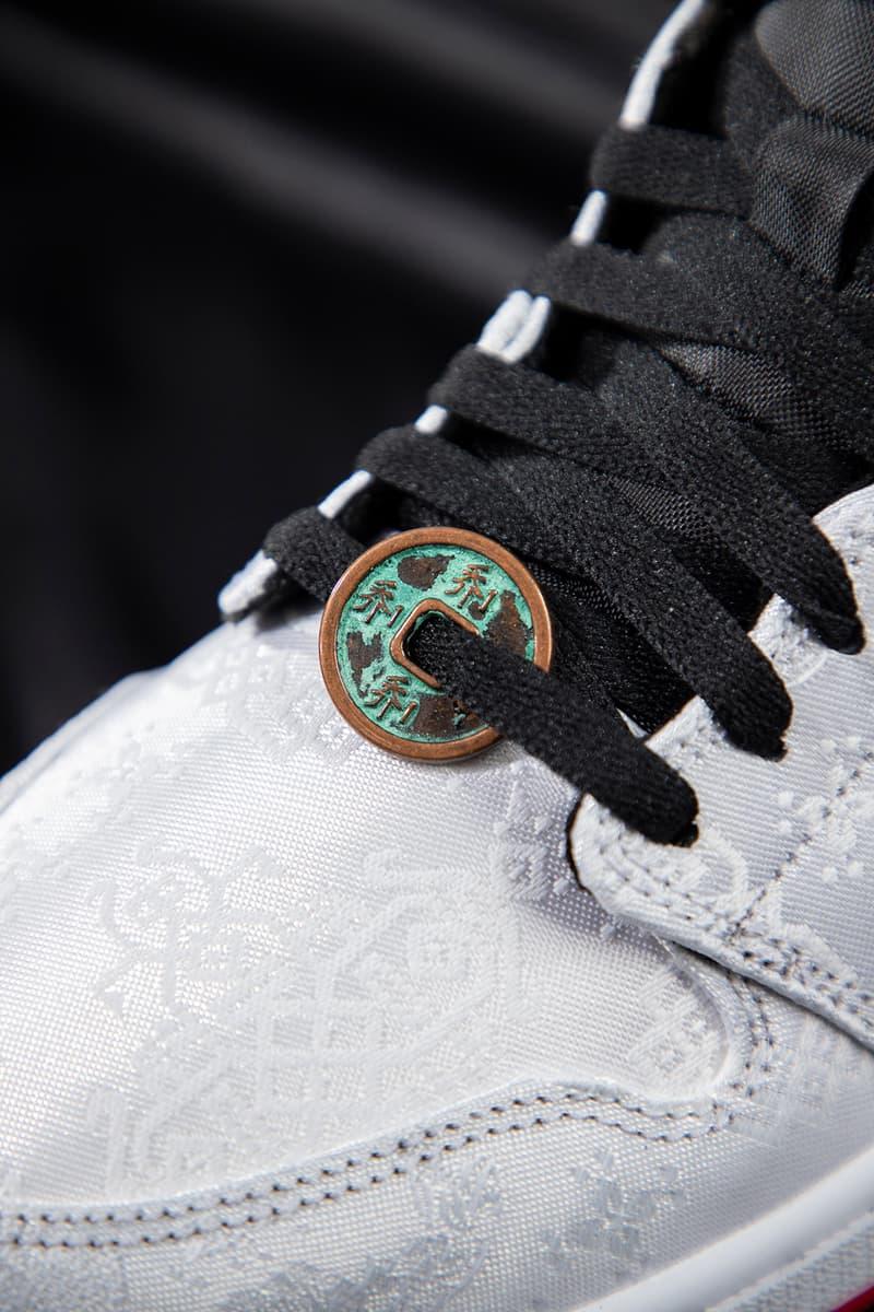 CLOT x Air Jordan 1 Mid 最新聯名配色「Fearless」正式發佈