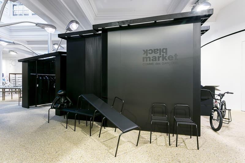 COMME des GARÇONS「Black Market」期間限定店正式於 DSML 登場