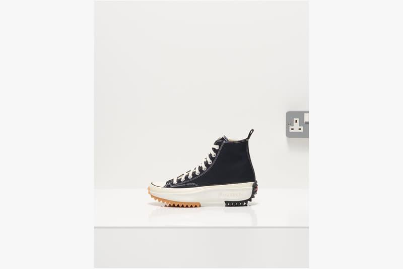 Converse x JW Anderson Run Star Hike 全黑配色鞋款重新上架