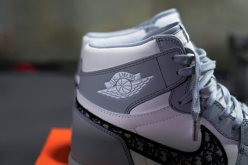 搶先近賞 Dior x Jordan Brand 限量版 Air Jordan 1 High OG 球鞋