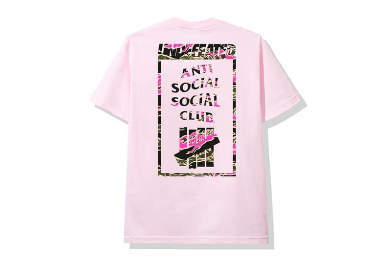 年末終極聯乘-Anti Social Social Club x UNDEFEATED 聯乘系列正式公開