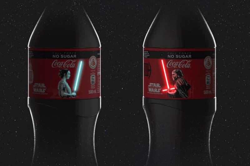 Coca-Cola 再顯新意帶來別注《Star Wars》光劍可樂瓶