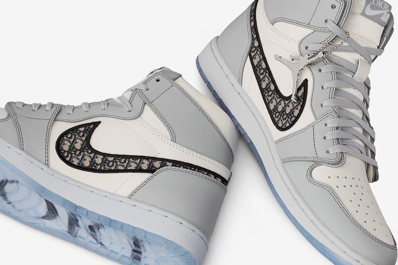 Dior x Jordan Brand 聯名 Air Jordan 1 正式亮相