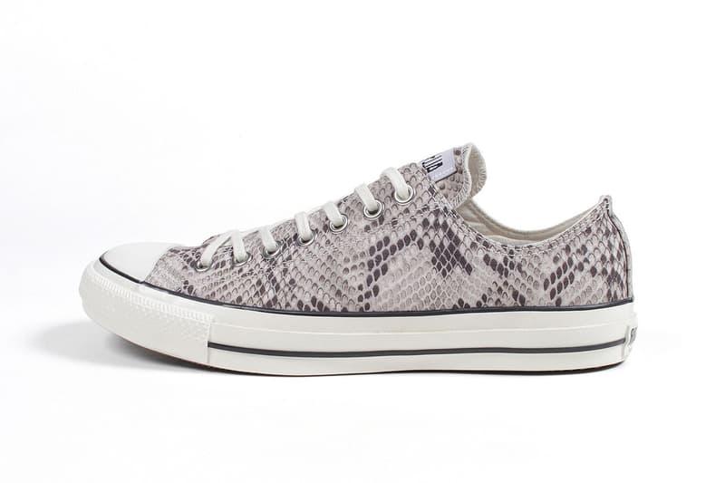 極速再合作-Wacko Maria x Converse 攜手打造別注蟒紋鞋款