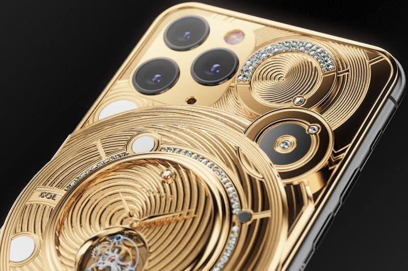 Caviar 要價 $70,000 美元奢華陀飛輪 iPhone 11 Pro 正式發佈開箱短片