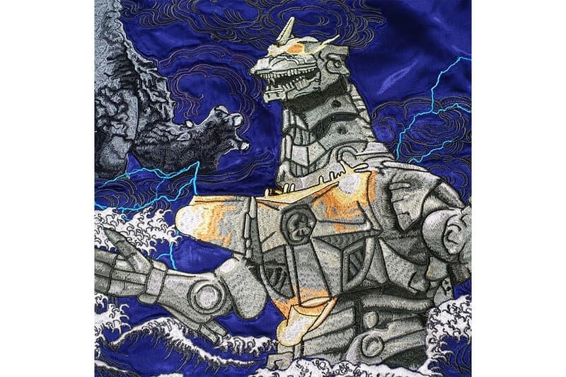 日本 GODZILLA 推出全新哥斯拉橫須賀刺繡外套