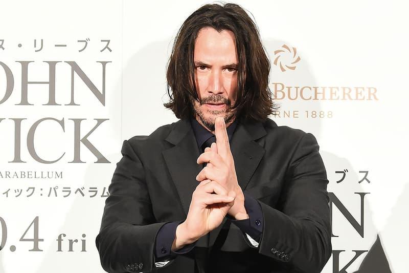 Keanu Reeves 正式啟動《John Wick 4》、《The Matrix 4》之 Gun-Fu 訓練