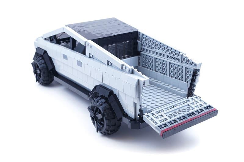 Tesla 車迷使用 2,000 塊 LEGO 積木打造 Cybertruck 模型