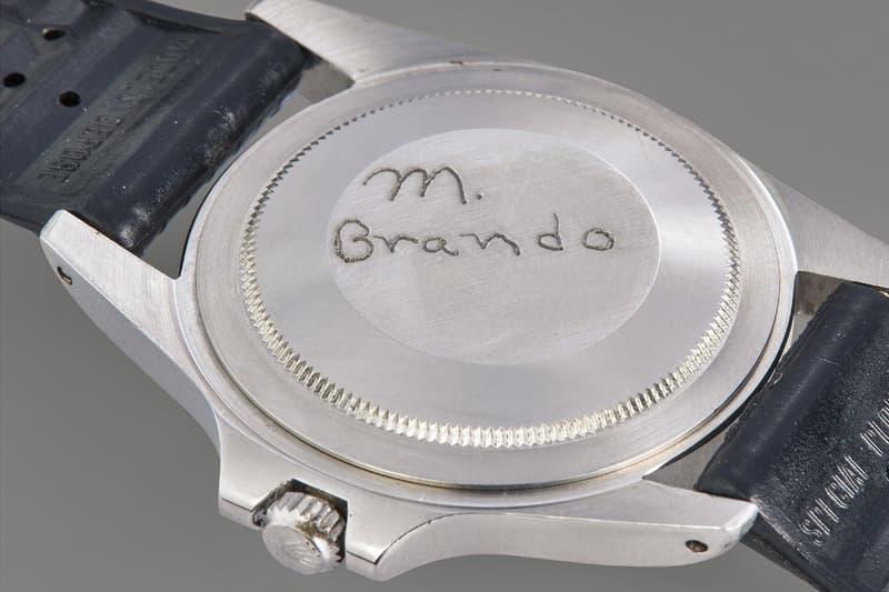 傳奇影帝 Marlon Brando 配戴 Rolex GMT-Master 腕錶以近 $200 萬美元拍賣