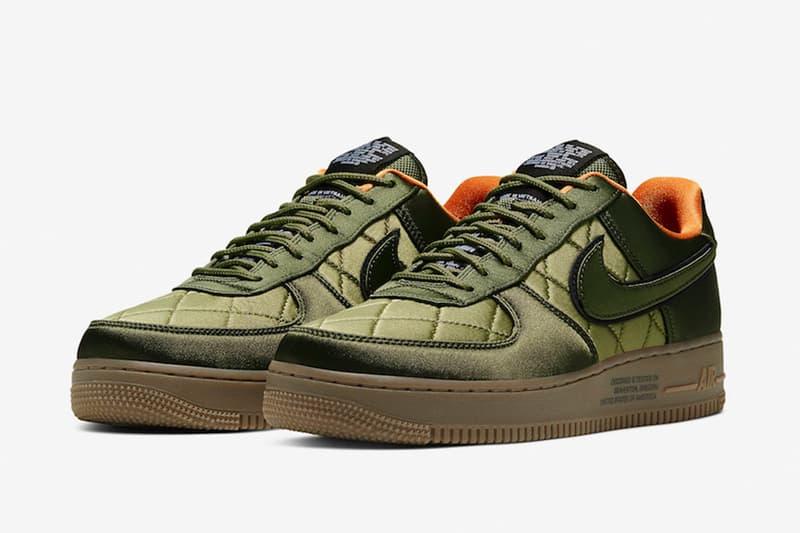 Nike 推出 Air Force 1 Low 軍事主題 MA-1 樣式鞋款