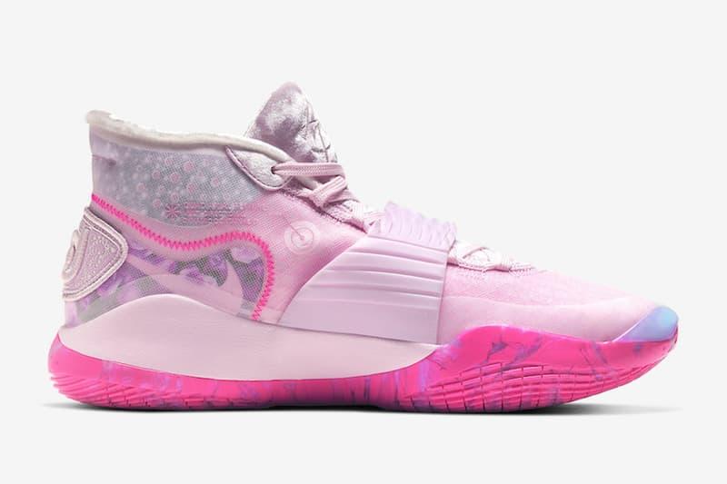 Nike KD 12「Aunt Pearl」乳癌粉紅別注配色正式發佈