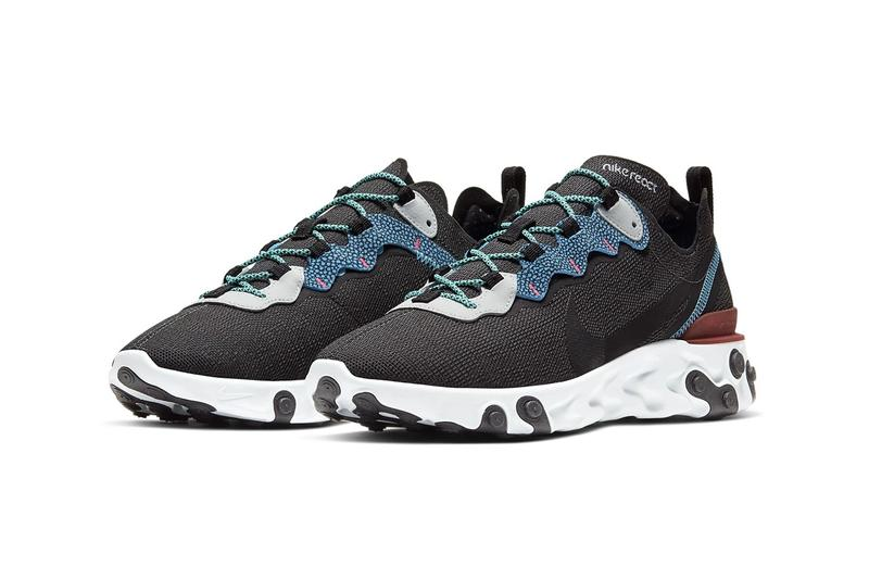 Nike React Element 55 最新配色「Anthracite/Blue Fury」發佈