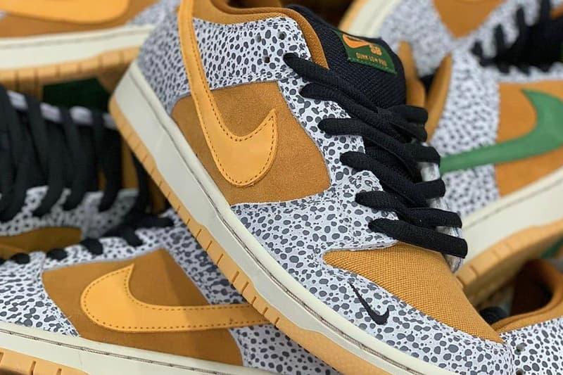 疑似 atmos x Nike SB Dunk Low Pro 联名鞋款发售消息曝光