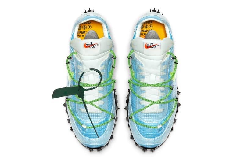 Off-White™ x Nike Waffle Racer SP 聯乘系列官方圖輯發佈