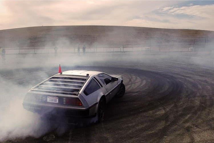 史丹佛大學成功研發可精準飄移之自動駕駛電能 DeLorean