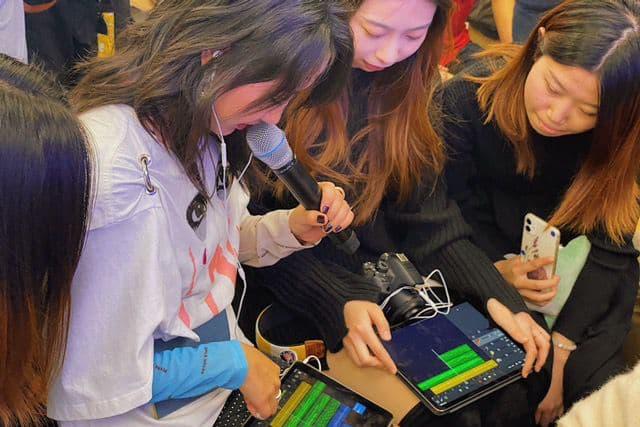 陈粒担任 Today at Apple 的实验室系列课程嘉宾