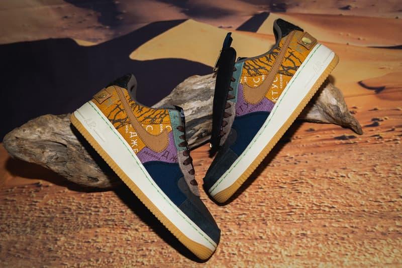 Travis Scott 無預警向粉絲送出 Nike Air Force 1「Cactus Jack」聯乘鞋款