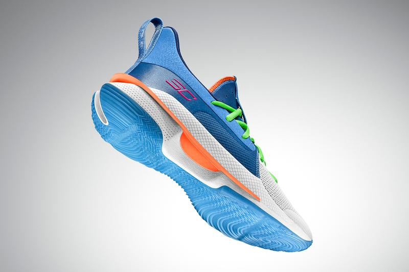 Under Armour Curry 7 全新配色「NERF Super Soaker」正式登场