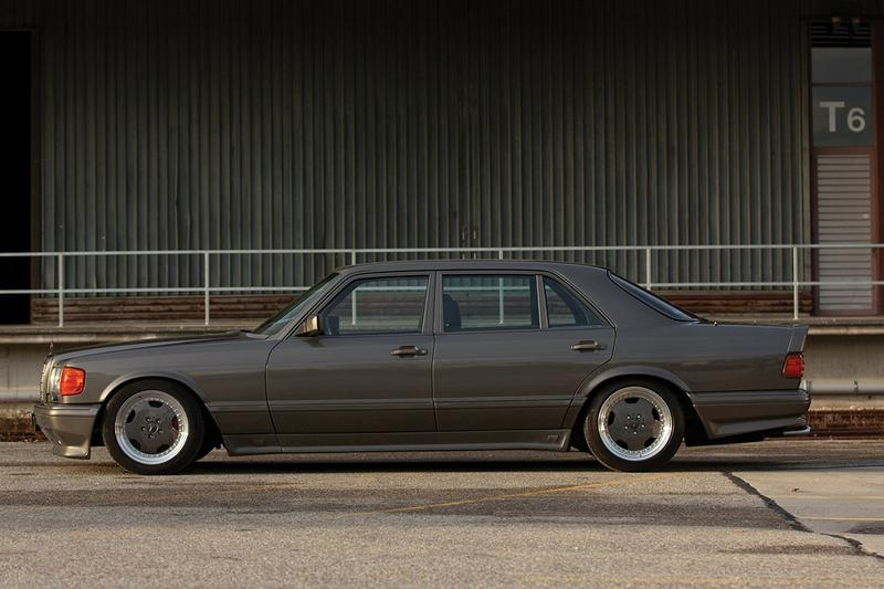 罕有 1989 樣式 Mercedes-Benz 560 SEL AMG 即將展開拍賣