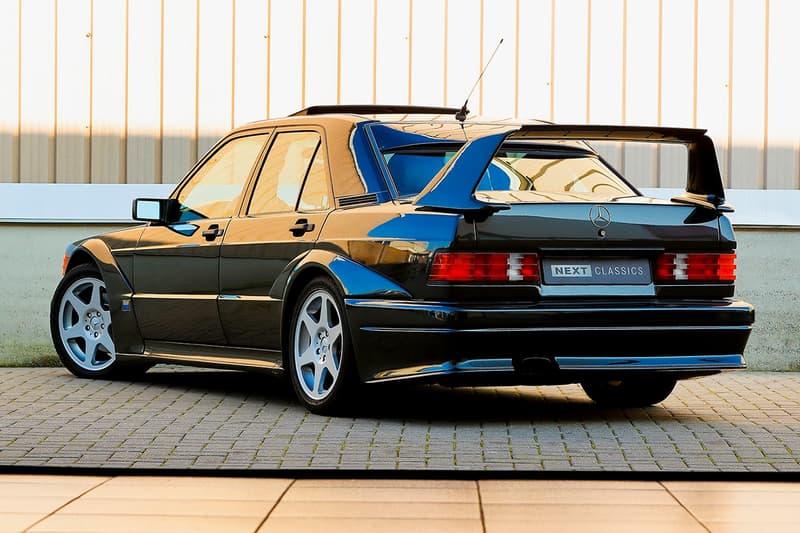 極罕有 1990 年 Mercedes-Benz 190E 2.5-16 Evolution II 展開拍賣
