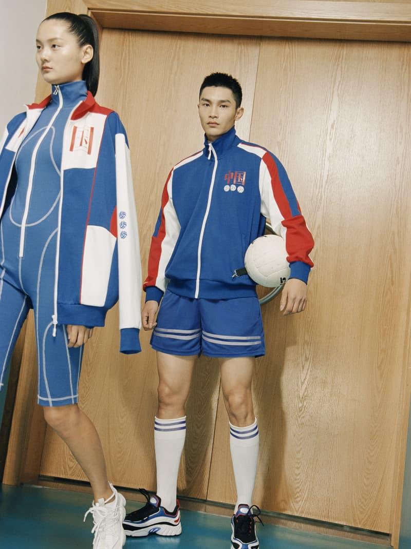 光明乳业携手中国设计师 CHEN PENG 打造「光明女排套装」
