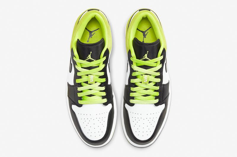 Jordan Brand 帶來全新 Air Jordan 1 Low「Black Cyber」配色