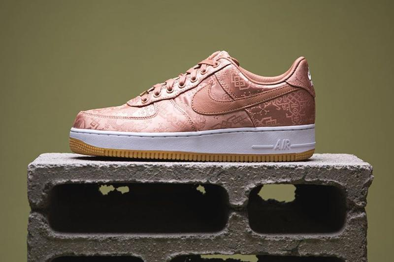 率先近賞 CLOT x Nike Air Force 1「Rose Gold Silk」實鞋及上腳圖輯