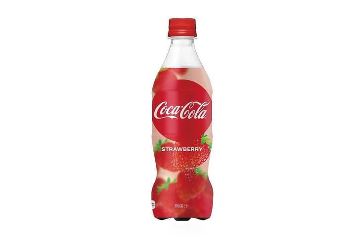 戀愛的季節-日本 Coca-Cola 發表全新士多啤梨口味可口可樂