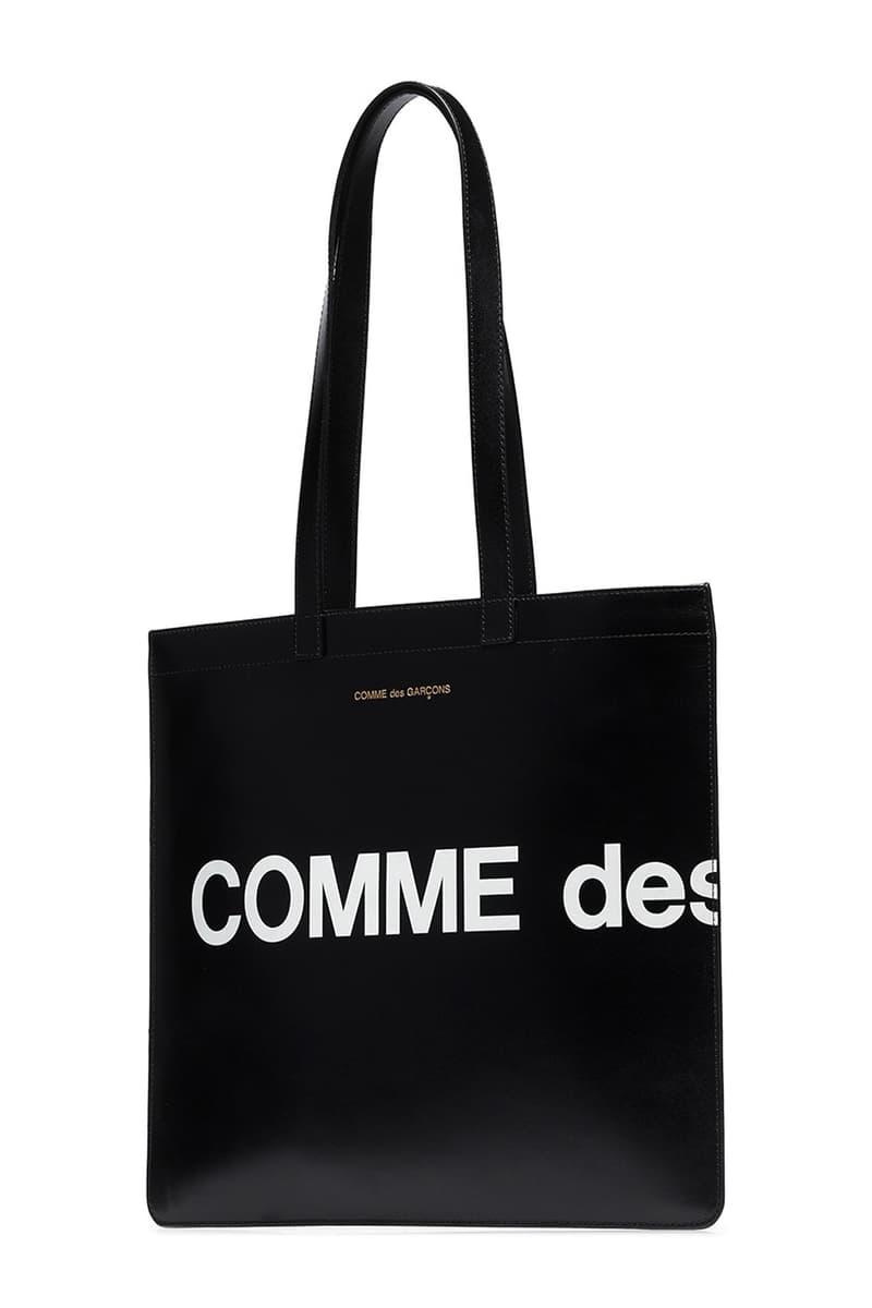 COMME des GARÇONS 推出全新「Huge Logo」設計 Tote Bag