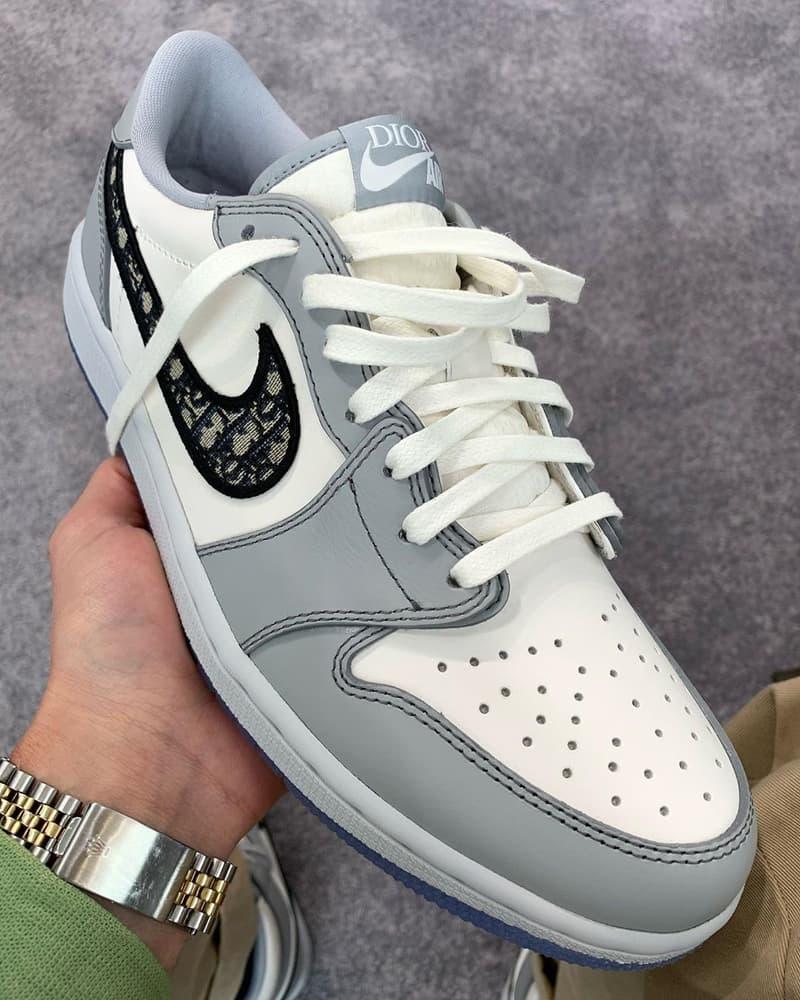 低筒來襲!率先預覽 Dior x Air Jordan 1 Low 最新聯名鞋款