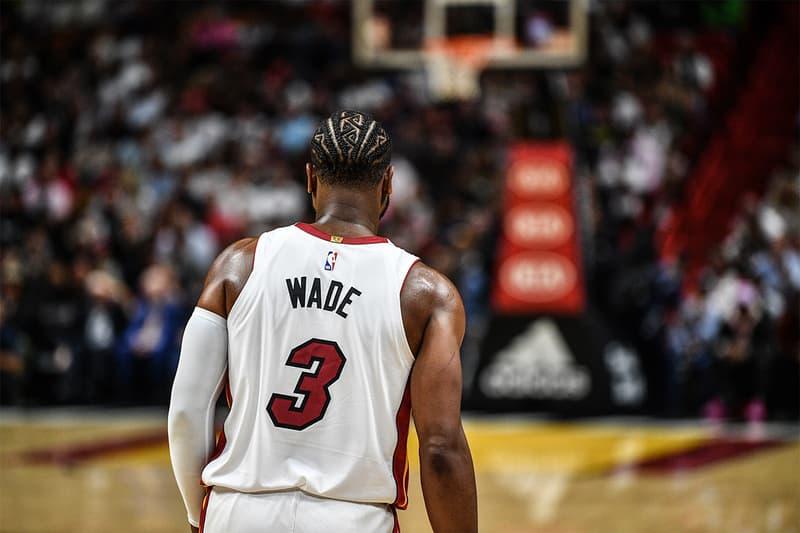 Miami Heats 宣佈退休 Dwyane Wade 球衣日期