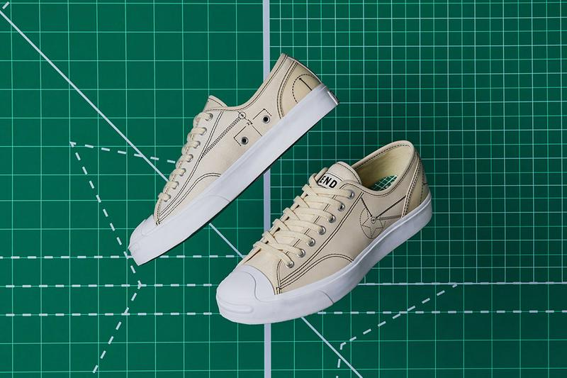 設計藍圖-END. x Converse 聯乘重塑 Jack Purcell 及 Chuck 70 鞋款