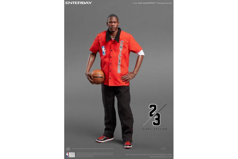 ENTERBAY 全新「Michael Jordan 客場終極版」1:6 限量珍藏版人偶即將發佈