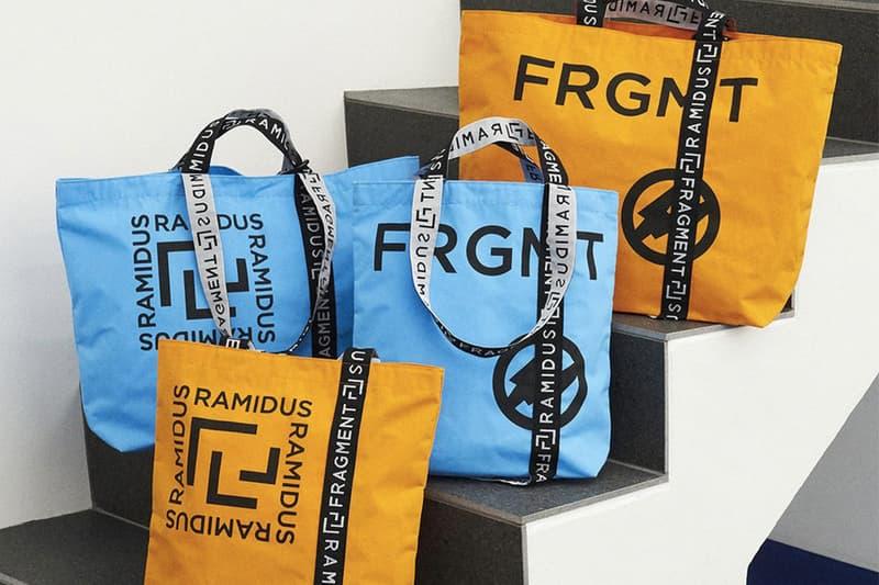 fragment design x RAMIDUS 攜手打造工業材質別注袋款