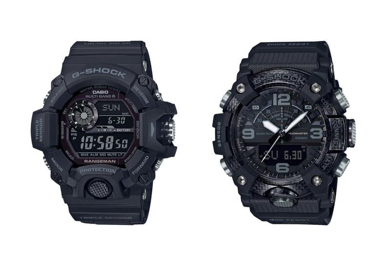 G-SHOCK 旗下「MASTER OF G」系列推出兩款全新腕錶