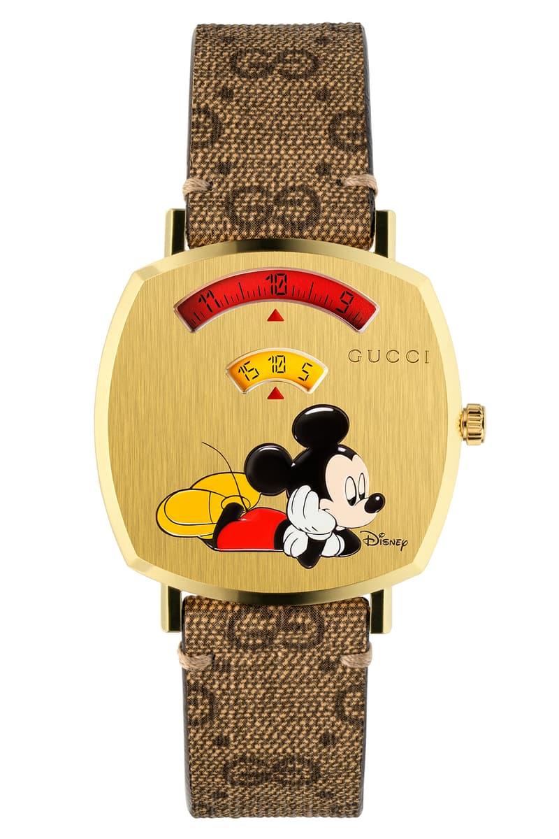 拜年必備!Gucci Grip 腕表推出別注版 Mickey Mouse 系列