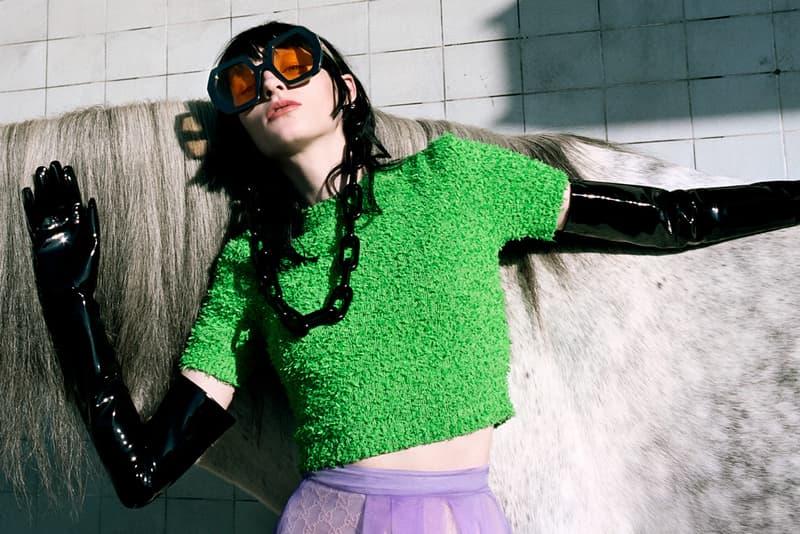 馳馬飛奔 - Gucci 2020 春夏系列大片《ofCourseAHorse》正式發佈