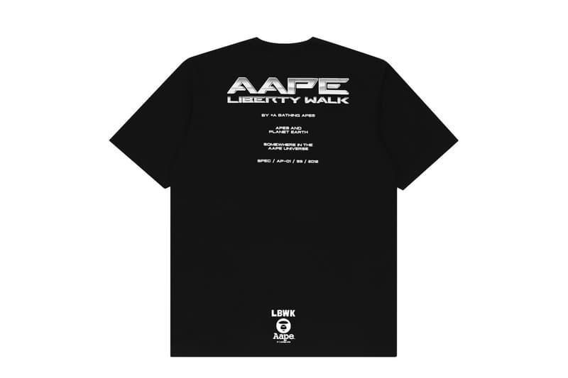 AAPE BY *A BATHING APE® 聯手日本改裝車大廠 Liberty Walk 推出聯名系列!