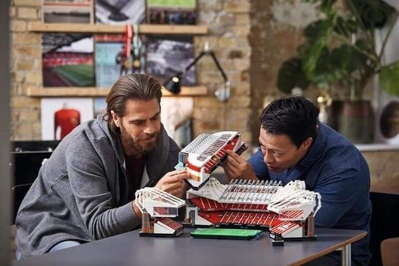 LEGO 即將推出曼聯 Old Trafford 奧脫福球場積木模型