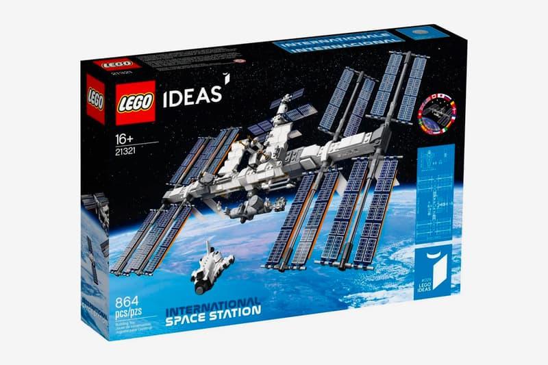 LEGO IDEAS 推出 International Space Station 積木模型