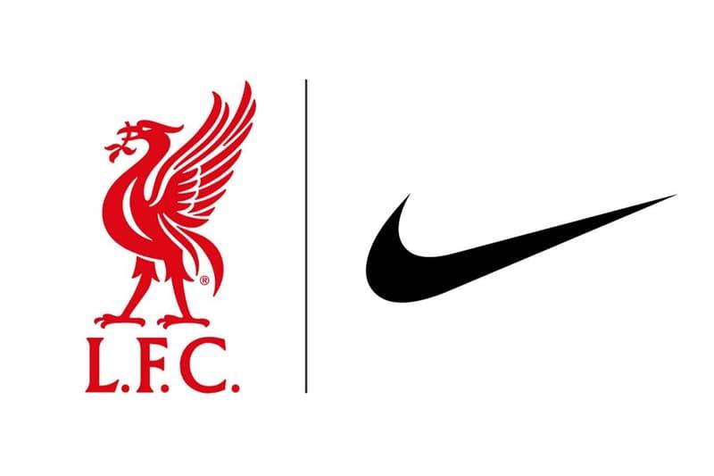 英超球隊 Liverpool 正式宣布 Nike 成為官方球衣品牌
