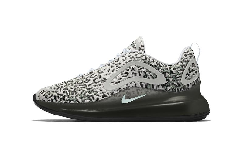 野性的呼喚-maharishi x Nike Air Max 720 推出豹紋元素鞋款