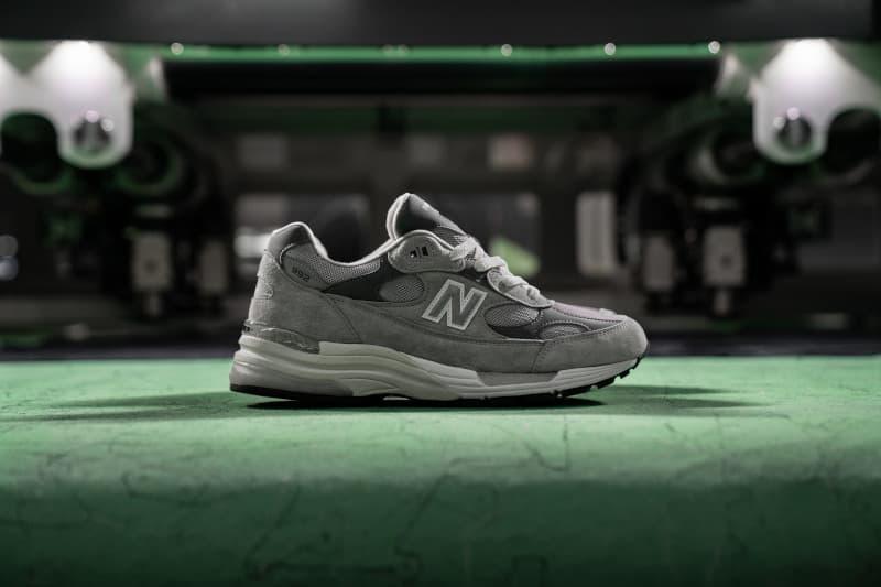 New Balance 经典鞋款 992 即将迎来首次复刻回归