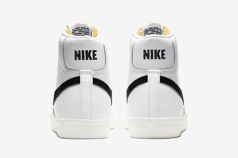 Nike 即將再度復刻 Blazer Mid '77 Vintage 經典黑白配色鞋款