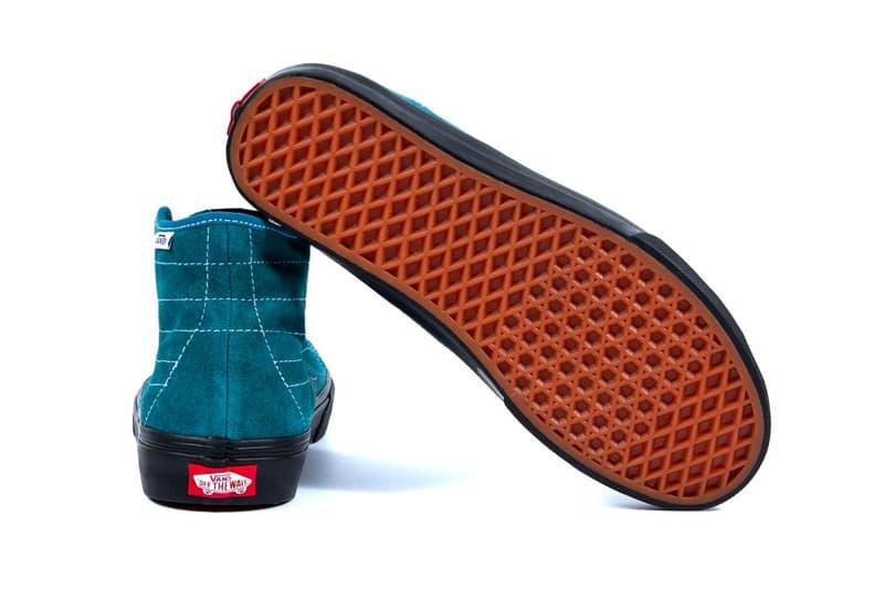 NOAH x Vans 全新聯乘 Sk8-Hi Decon 鞋款系列發佈