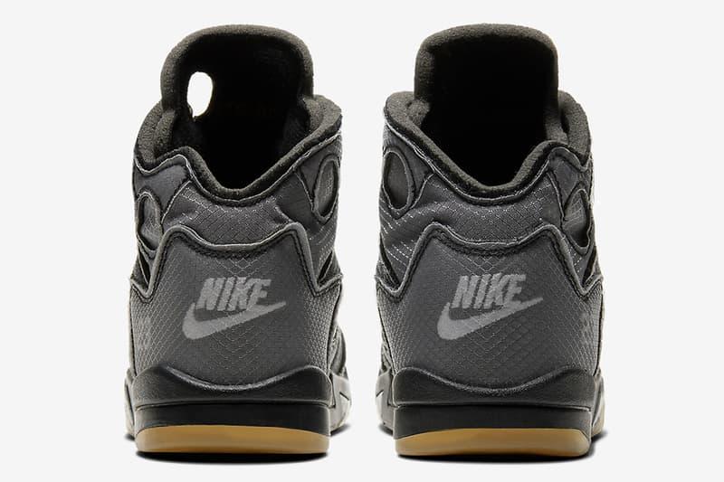 Off-White™ x Air Jordan 5 全新聯乘鞋款確定推出幼兒、嬰兒尺碼